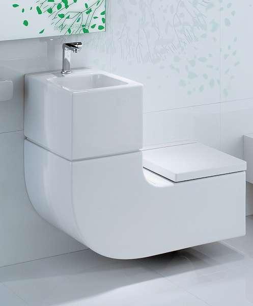 Комбинированный туалет и раковина Roca (Испания)