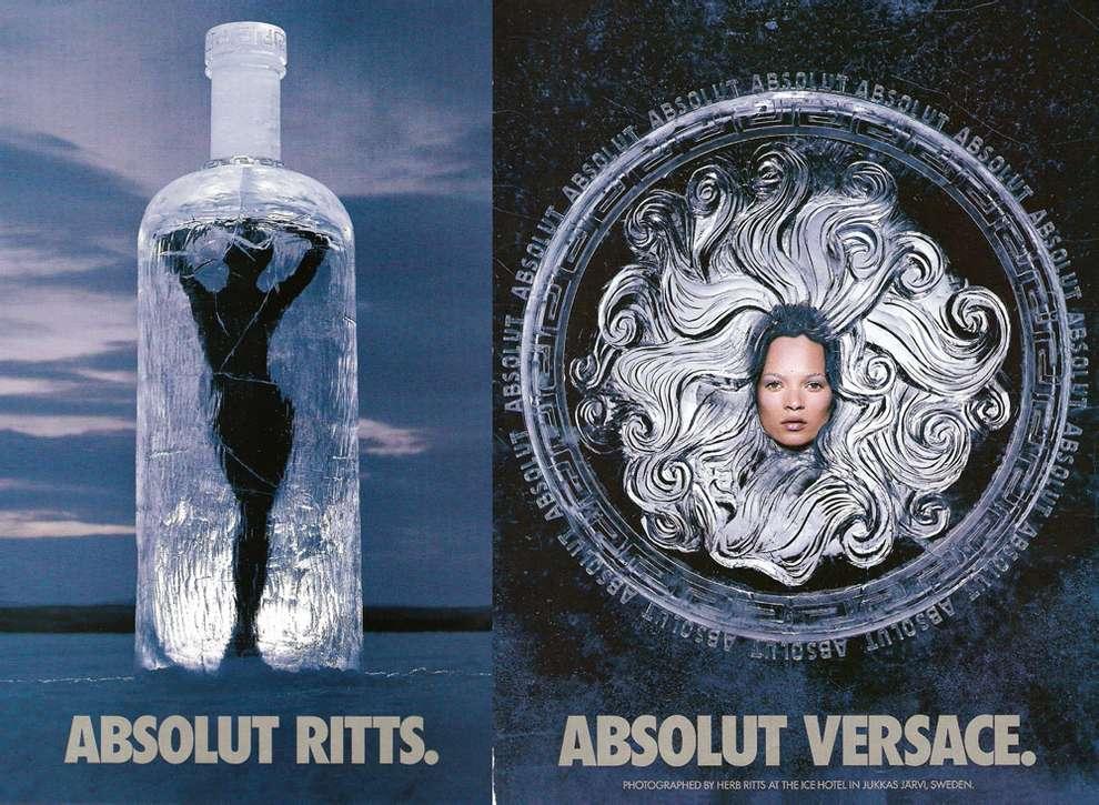 Versace и Absolut