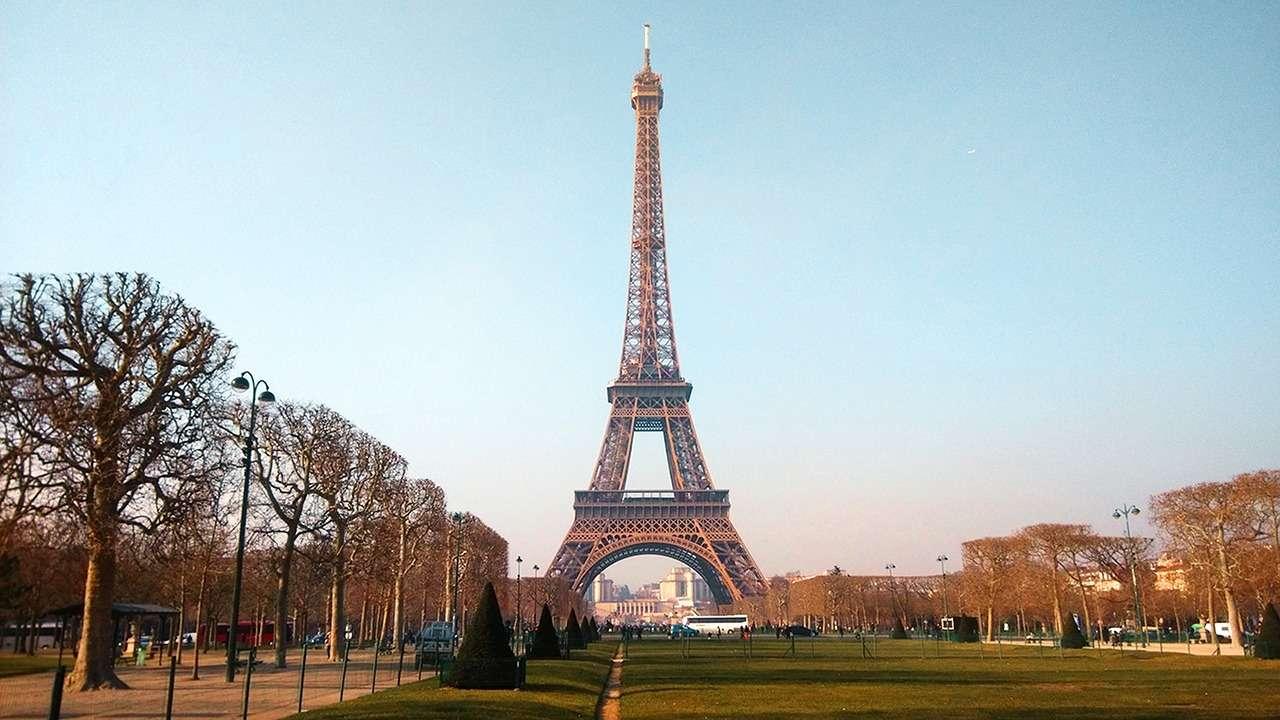 франция париж эйфелева башня