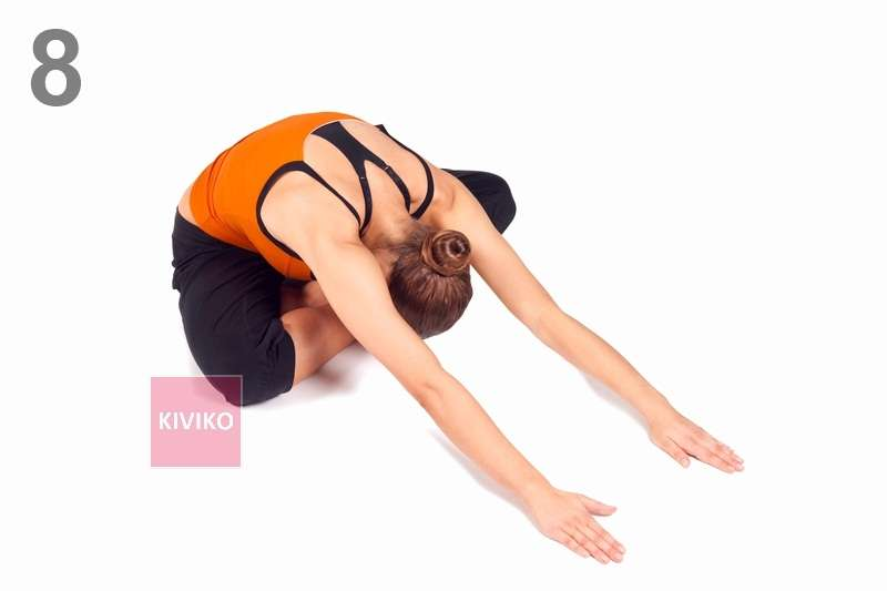 Йога - упражнения для спины