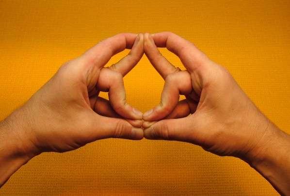 йога пальцев