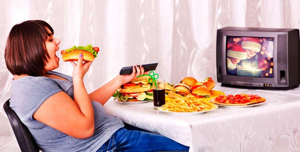 Телевизор и диета