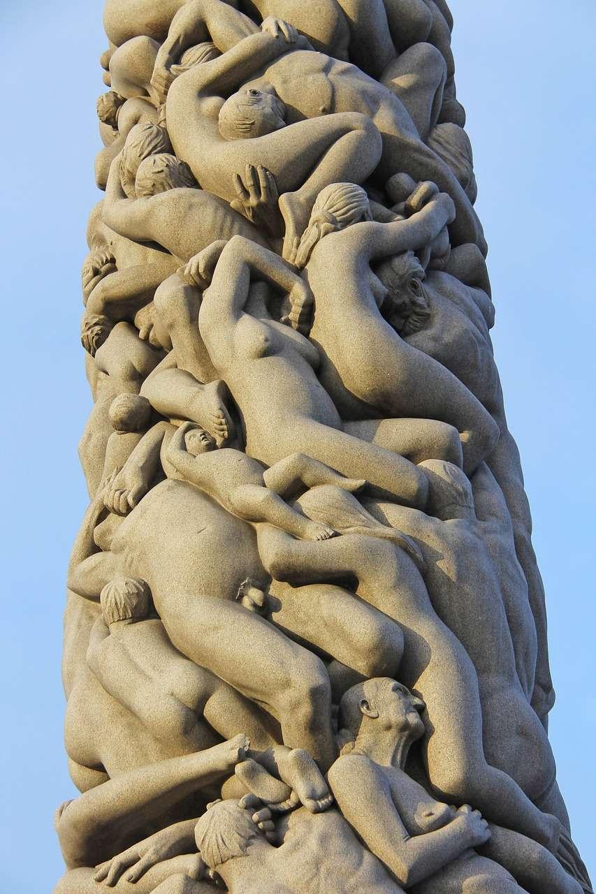 парк скульптур Вигеланда9