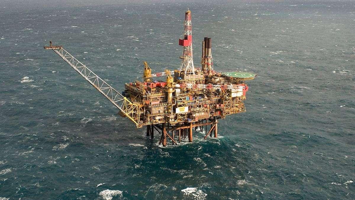 нефтяная вышка shell