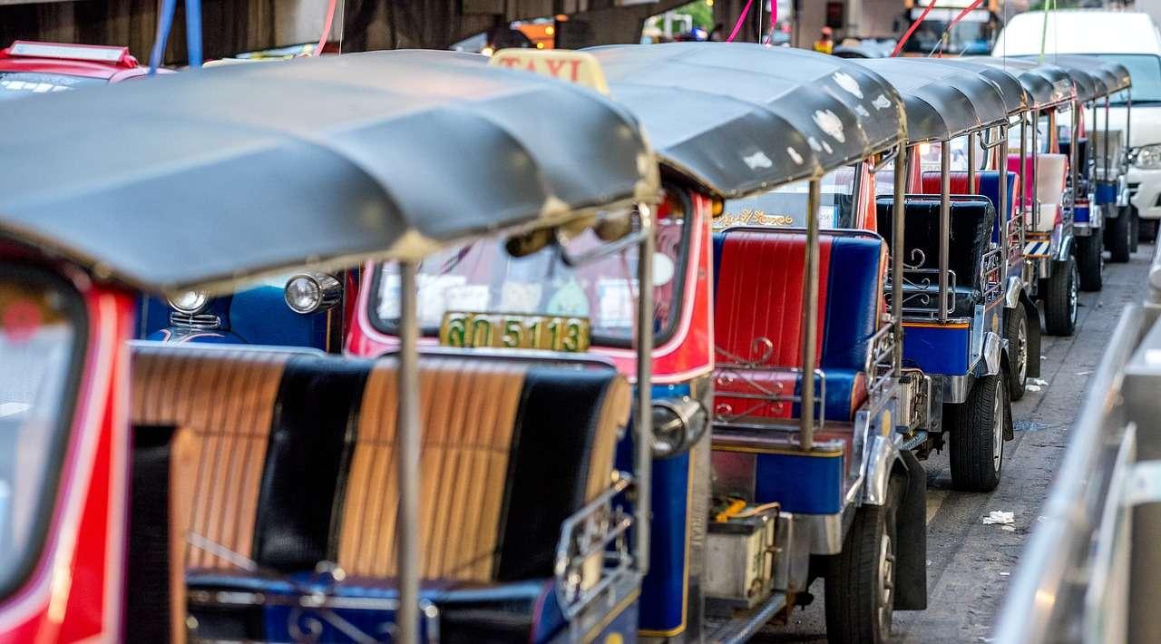 Бангкок Таиланд Город Путешествия Азия