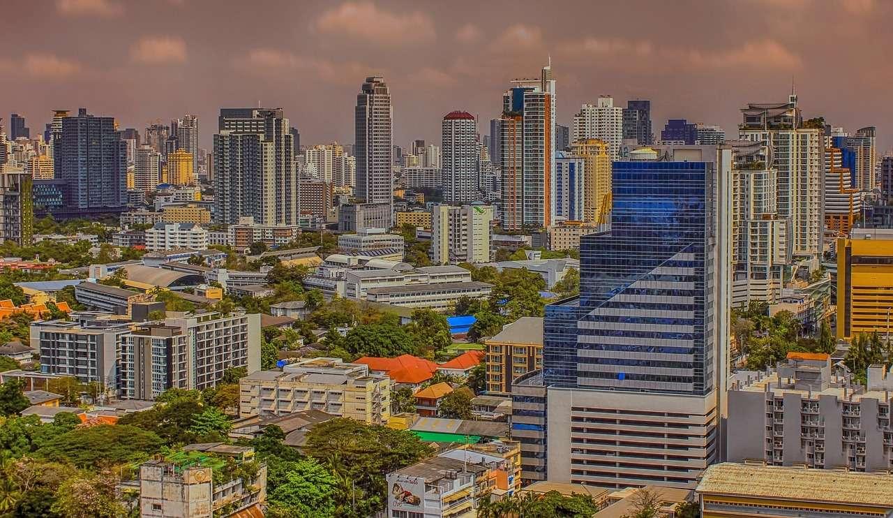 Бангкок Таиланд Город Столица Таиланда