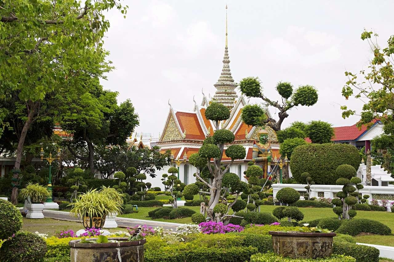 Бангкок Ват Арун Таиланд Храм Азии Духовные