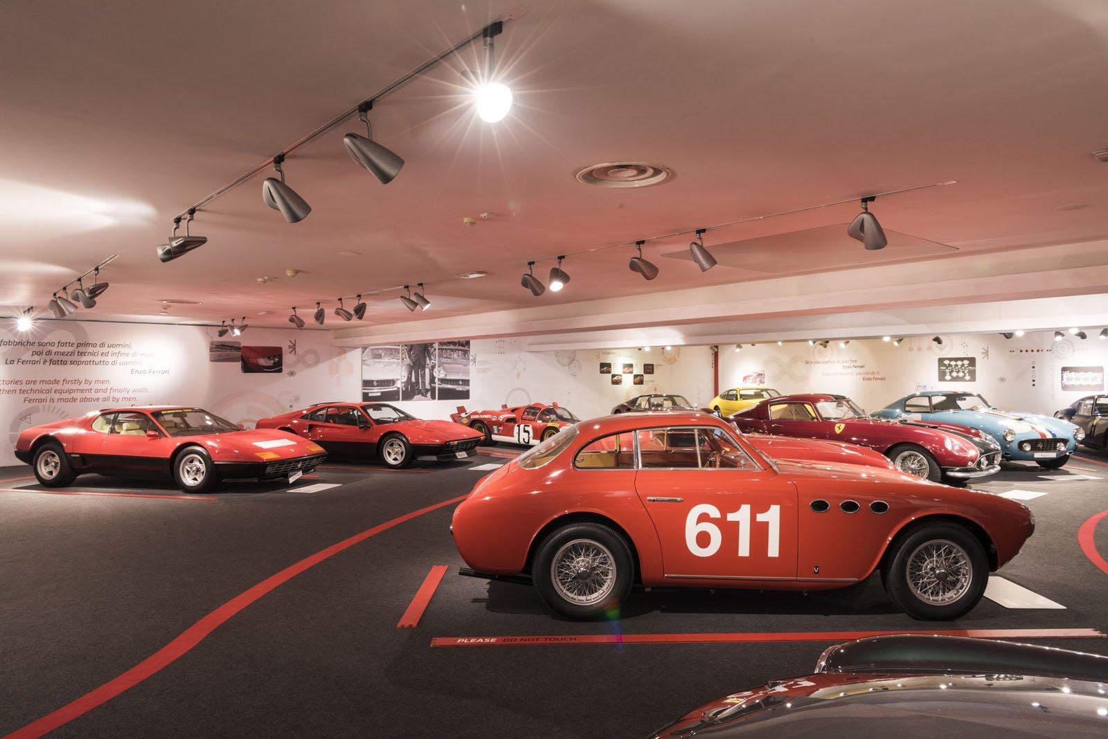 Маранелло музей Ferrari