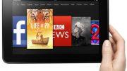 В Европе появились планшетные компьютеры Amazon Kindle Fire-HD