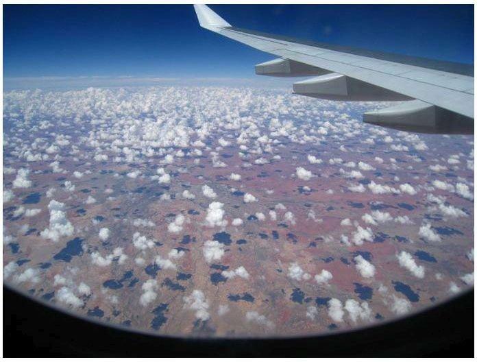 Почему места у иллюминатора-лучшие в самолете (26 фото)