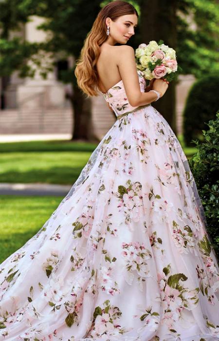 Романтический свадебный наряд