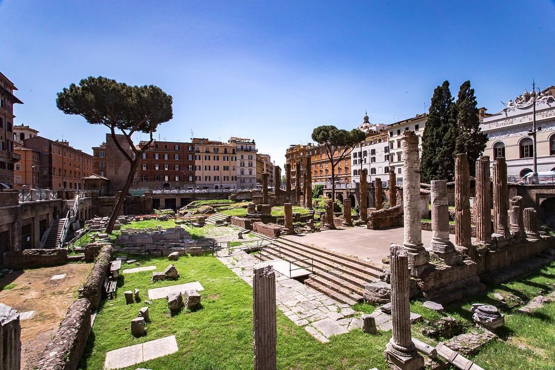 Место убийства Цезаря
