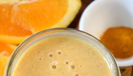 Orange Mango Recovery Smoothie