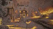 Уютные зимние картины городов, которые дарят праздничное настроение