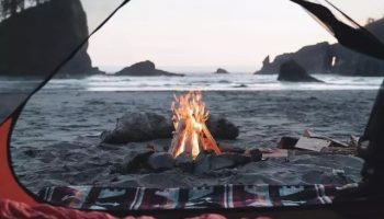 Появился новый тренд палаток для путешествий: яркие фото