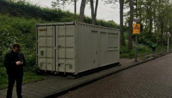 В Амстердаме Airbnb поселил туриста в контейнере: красноречивые фото