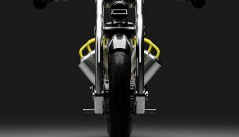 Cirtuss показала электробайк с батареей в стиле двигателя V8