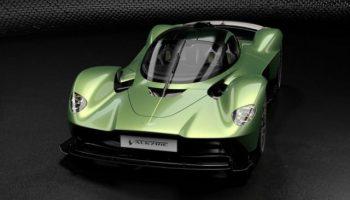 Спрос на гиперкар Aston Martin Valkyrie в шесть раз превысил тираж