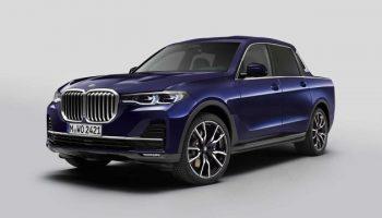 BMW X7: компания показала гигантский и мощный пикап